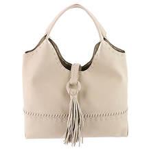 Big Buddha Porto Fold Over Tassel Hobo Bag