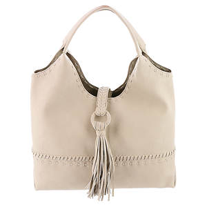 Big Buddha Porto Fold Over Tassel Hobo Bag
