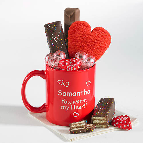 Personalized Warm My Heart Mug