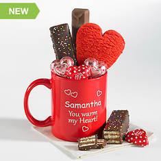 Personalized Warm My Heart Mug