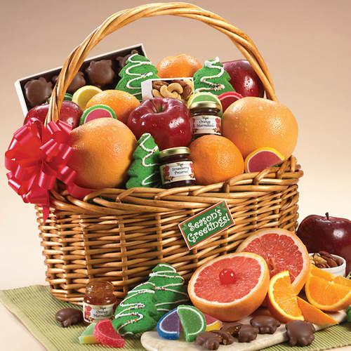 Sunburst Fruit Basket