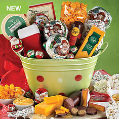 Santa Magic Gift Basket