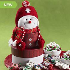 Sweet Snowman Tower