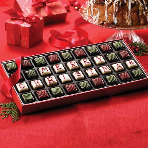 Sugar Free Merry Christmas Petits Fours