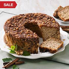 No Sugar Added Cinnamon Streusel Cake