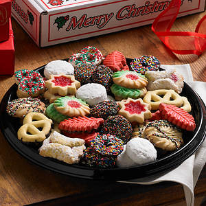 Christmas Traditions Cookie Tray