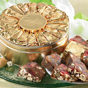 Foil Wrapped Fruitcake