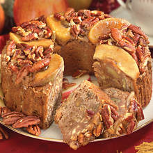Grandma's Cinnamon Apple Nut Cake