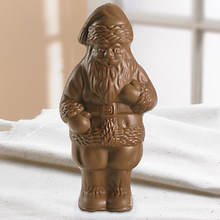 Big Chocolate Santa
