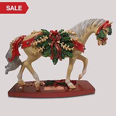 Pine Bundles Horse Figurine