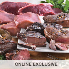 Wild Game Steak Sampler