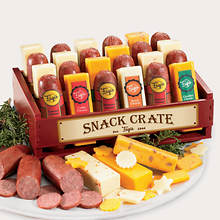 Holiday Crate of Cheese & Sausage