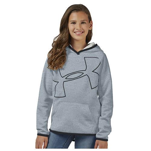 Under Armour Girls' Big Logo Hoodie