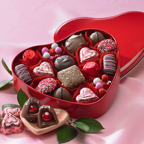 Sweetheart Chocolate Tin