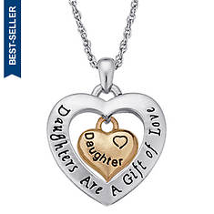 Sentiment Heart Pendant