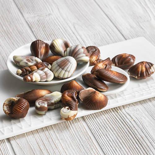 Belgian Chocolate Shells