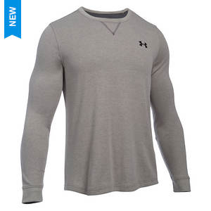Under Armour Men's Waffle Long Sleeve Crew