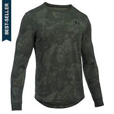 Under Armour Men's Waffle Long Sleeve Printed Crew