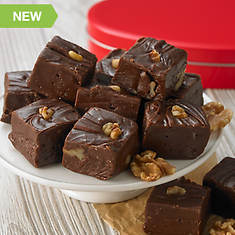 Heart Fudge - Chocolate Walnut