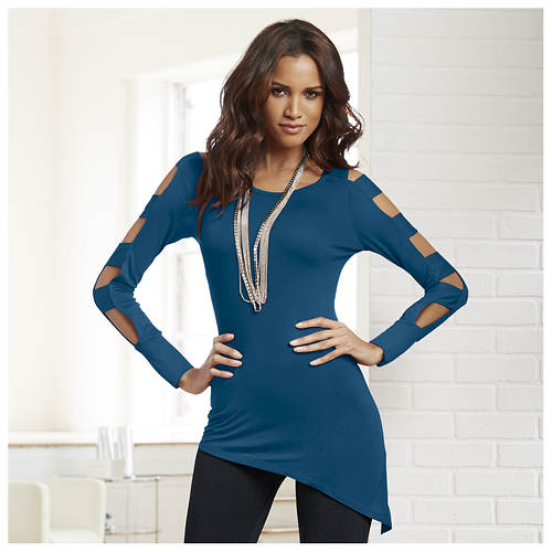 Ladder Sleeve Tunic