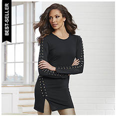 Laced Vamp Tunic