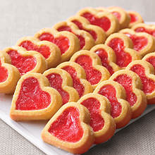 Cherry Heart Cookies