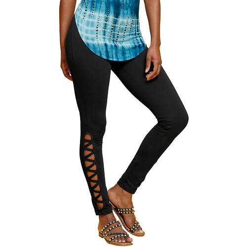 Lattice Ankle Legging