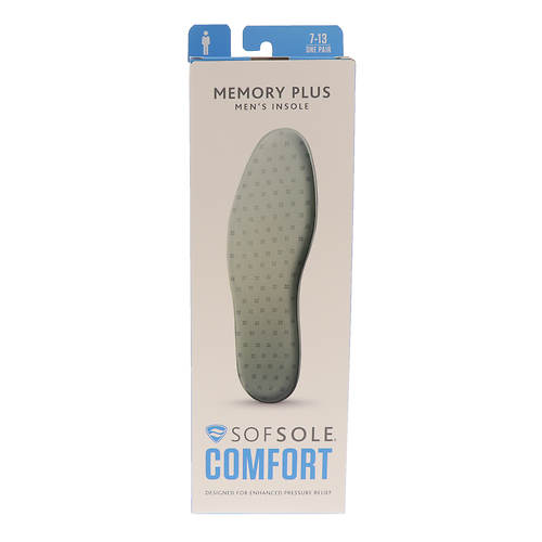 Sof Sole Memory Plus Insole (Men's)