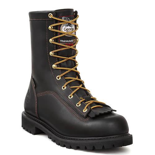 Georgia Boot Lace-To-Toe 8