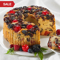 Mixed Berry Fruitcake - 2 lb. Ring