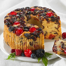 Mixed Berry Fruitcake - 1 lb Loaf