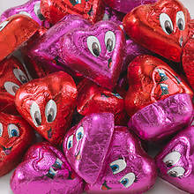 Valentine Snackin' Favorites - Chocolaty Hearts