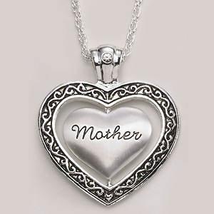 Keepsake Heart Necklace - Mother