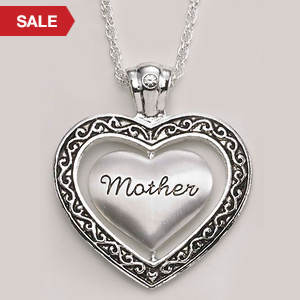 Keepsake Heart Necklace - Mother