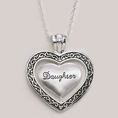 Keepsake Heart Necklace - Daughter