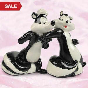 Pepe' Le Pew Salt and Pepper