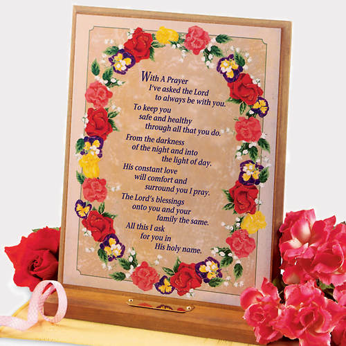 Personalized Musical Prayer Plaque