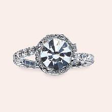 Crystal Crown Ring - Diamond