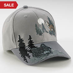 Wildlife Adventure Cap - Wolf