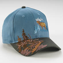 Wildlife Adventure Cap - Elk
