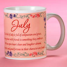 Personalized Birth Month Fairy Mug - July