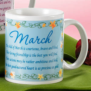 Birth Month Fairy Mug - March