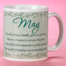 Personalized Birth Month Fairy Mug - May