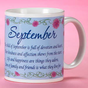 Birth Month Fairy Mug - September
