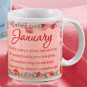 Birth Month Fairy Mug - January