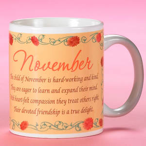 Birth Month Fairy Mug - November