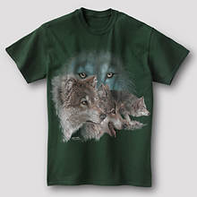 Wildlife Adventure Tee - Wolf