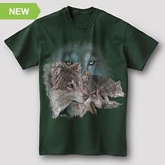Wildlife Adventure Tee - Wolf