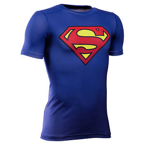 Under Armour Boys' DC Comics Baselayer Short Sleeve