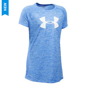 Under Armour Girls' Novelty Big Logo SS Tee